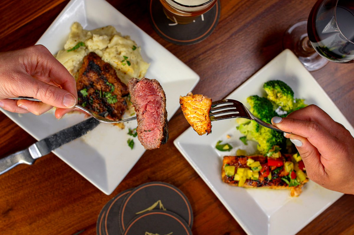 Sedona Taphouse On Twitter Missing Our Monday Night Specials We Have Amazing Flat Iron Steak And Salmon Deals Offered Daily Available For Carry Out Add A Bottle Of Wine Or Growler