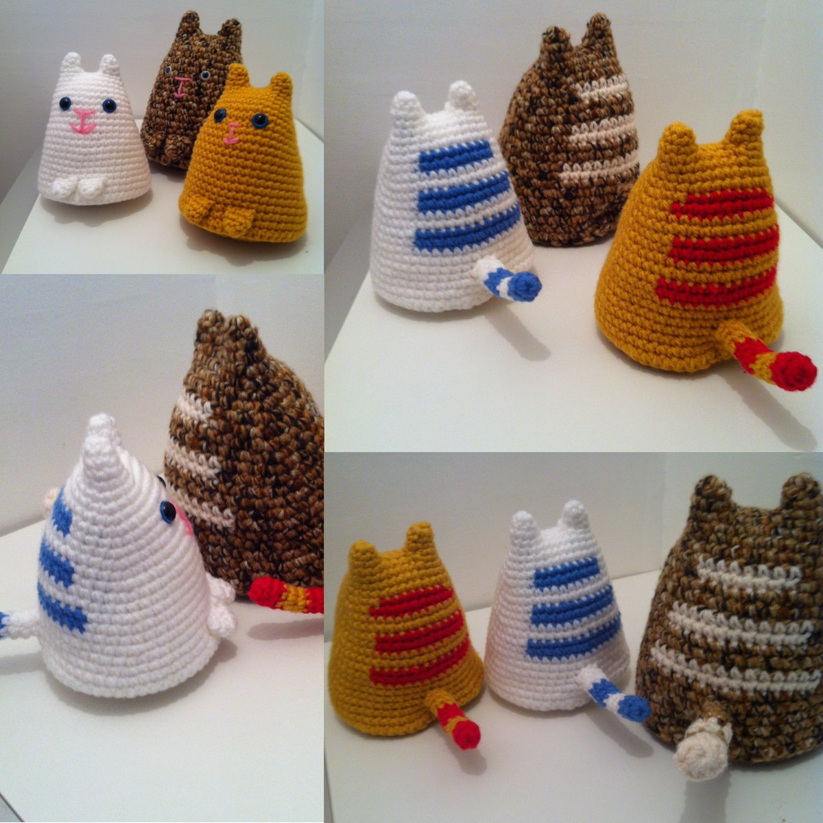 Amigurumi Dumpling Kitty Free Crochet Pattern - Cool Creativities | 1200x1200