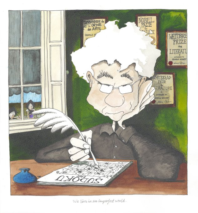 Happy Birthday Seamus Heaney from one of your