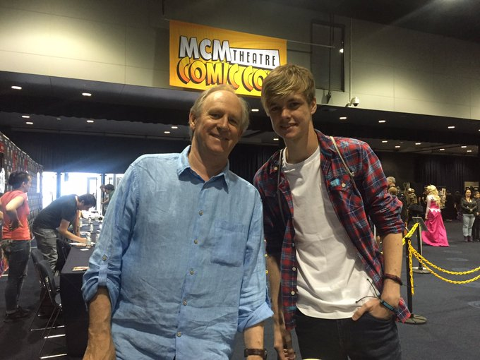 A very happy birthday to my favourite Doctor (shh, don t tell the others) Peter Davison!