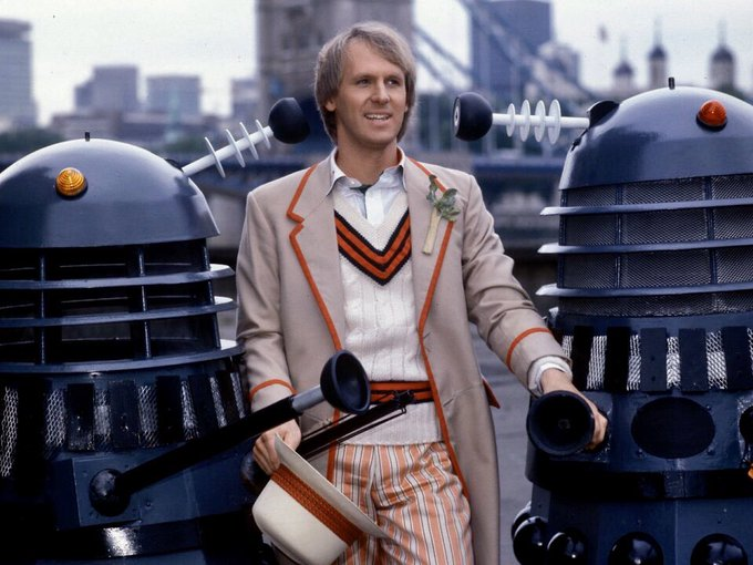 Wishing a very Happy Birthday to Peter Davison who played The Fifth Doctor!