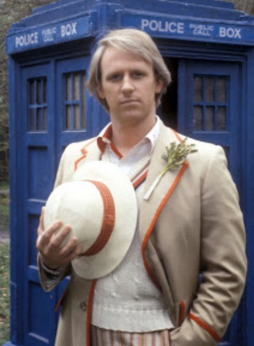 Happy Birthday to my first Doctor the brilliant Peter Davison!