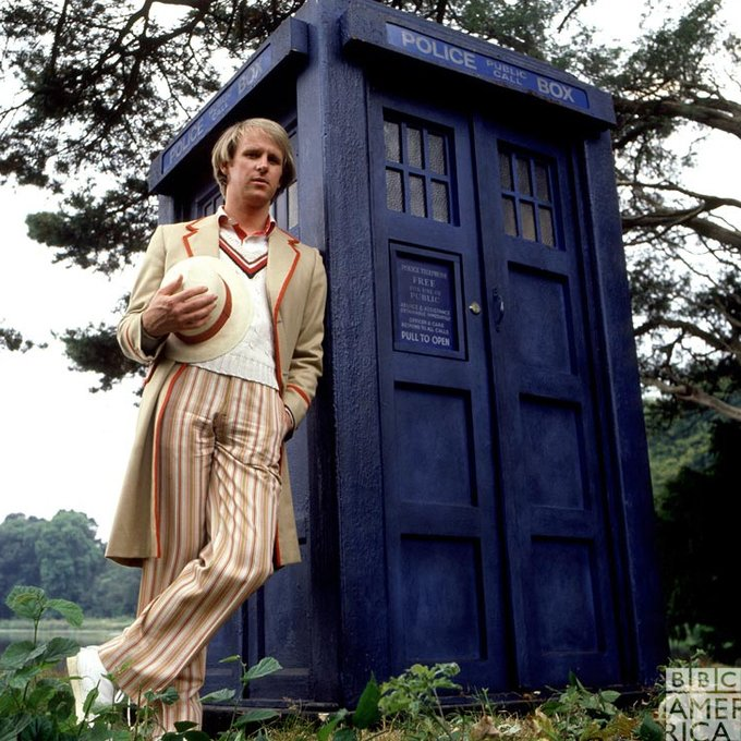 Wishing a very happy birthday to the Fifth Doctor, Peter Davison!