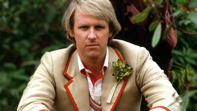 A very happy birthday to Peter Davison who will always be my Doctor. x