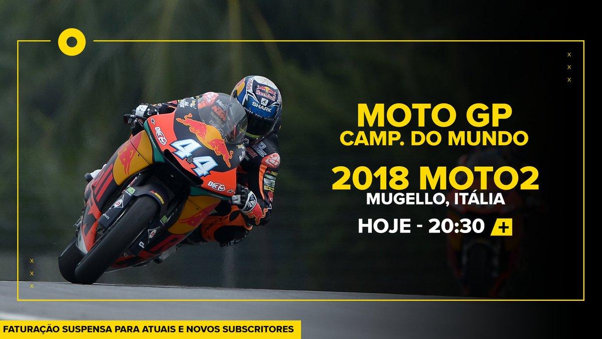Recorde as corridas gloriosas de @_moliveira88 em Moto2. Hoje apresentamos-lhe a corrida em Mugello, Itália, de 2018. A partir das 20:30, na SPORT.TV+. Inesquecível! #SomosTodosMiguel
