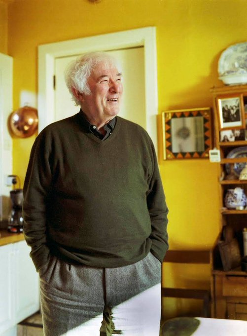 Happy Birthday Seamus Heaney - 81 years ago. Love, Innisfree.