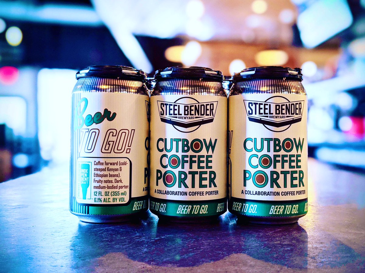 Snow on April 13 ❄️🌨❄️⁠ calls for a 6-pack of Cutbow Coffee Porter. ⁠⠀ Order on our website at 11:30 a.m. for noon pick up! ⁠⠀ ☕️+🍻=❤️⁠⠀ #strongerthansteel #DrinkAtHome #builttobrew #supportlocal #NMBeerLove ⁠#NMCraftBeer #newmexico #losranchosbrew https://t.co/TAk8mva8VN