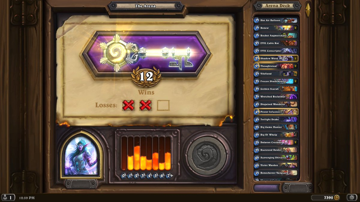 Another day, another 12 with priest.😎
