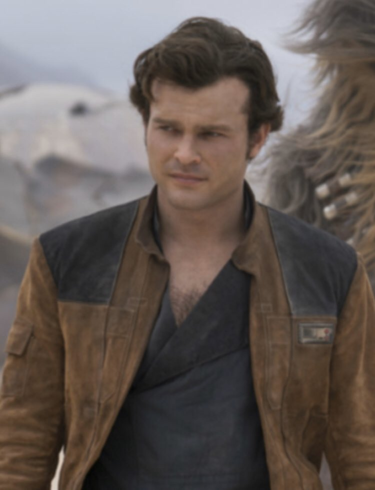 Finally watched Solo: a Star Wars Story. Terrific. Thanks to Alden Ehrenreich for giving me quarantine hair inspiration. https://t.co/CS5uPOtibF