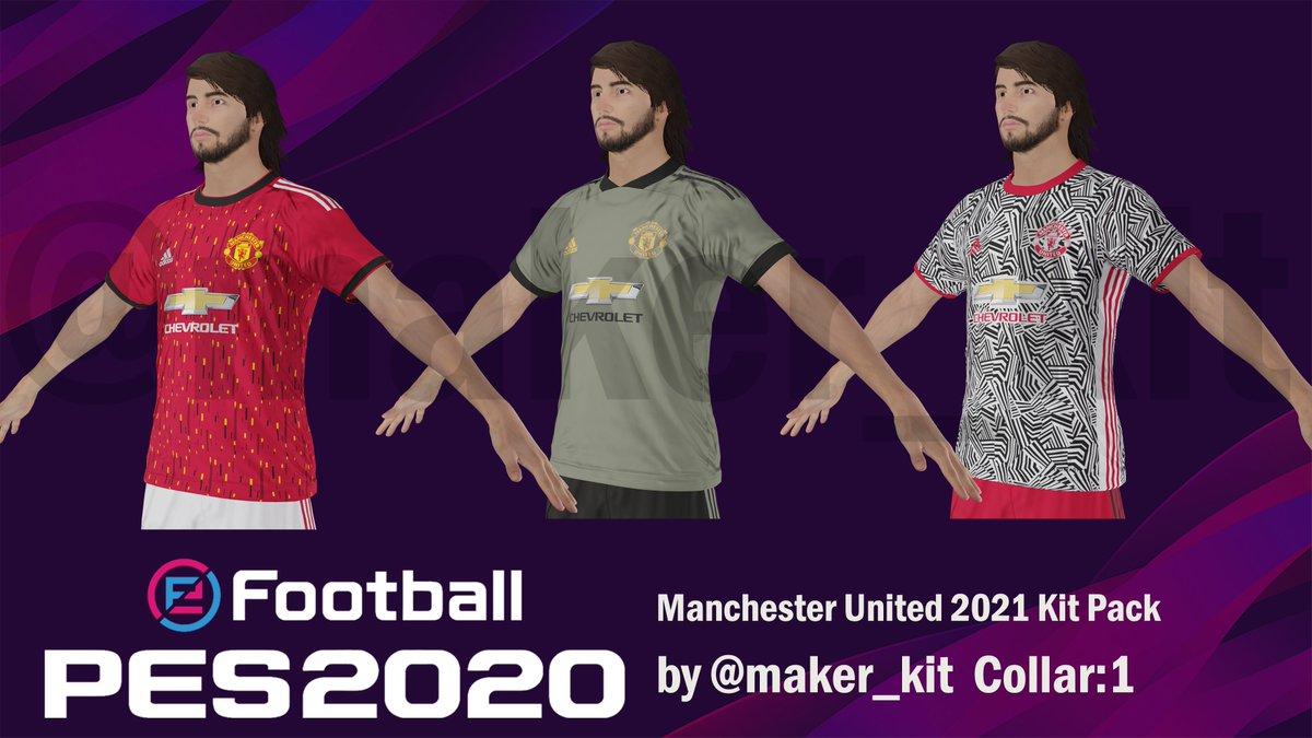 Kit Maker On Twitter Manchester United 20 21 Kit Pack Pes2020 Pes2019 Peskit Peskittemplate Peskits Bestpeskits Kittemplate Pes Patch Adidas Kitpack Manchesterunited Proevolutionsoccer Ps4 Officialpes Pes2020kit Efootballpes2020