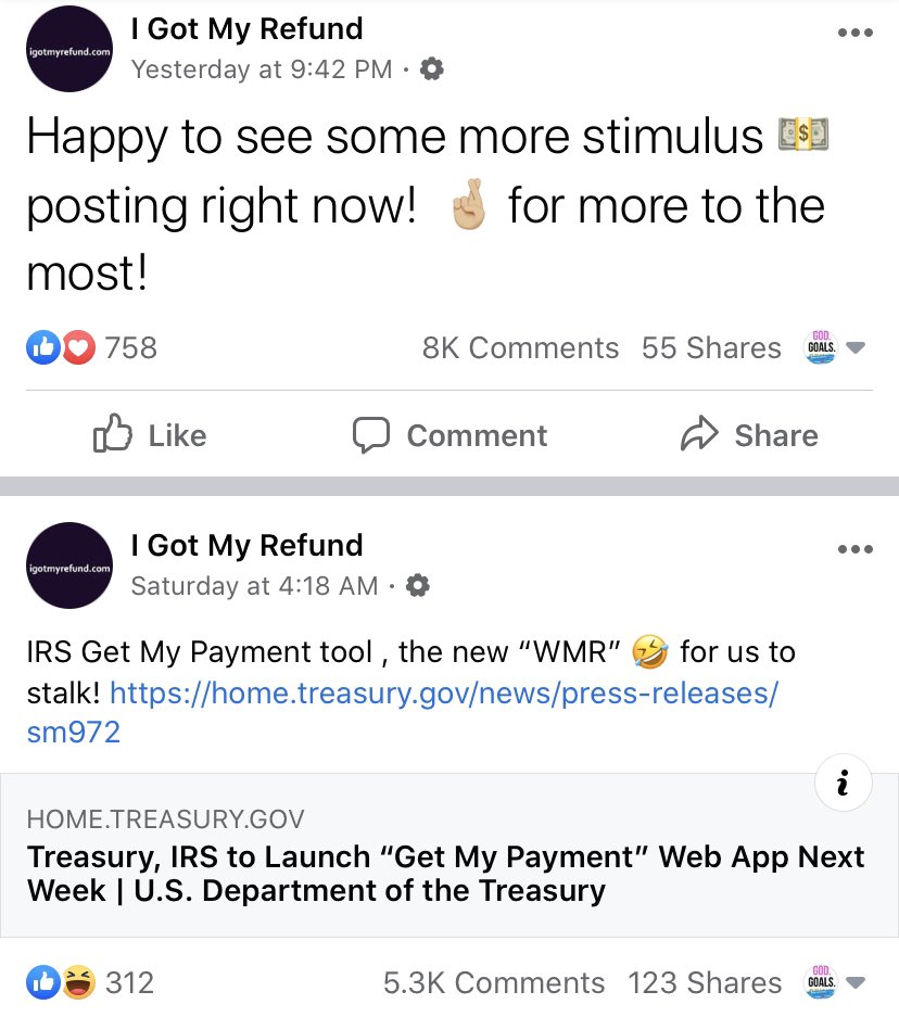 Chime On Twitter We Re Not A Prepaid Card We Re A Full Featured Fdic Insured Bank Account You Can Learn More About Us Here Https T Co Jxiubfrtxw Https T Co 3pgh9jdrir Igotmyrefund.com (igmr) is not affiliated with any government agencies. twitter