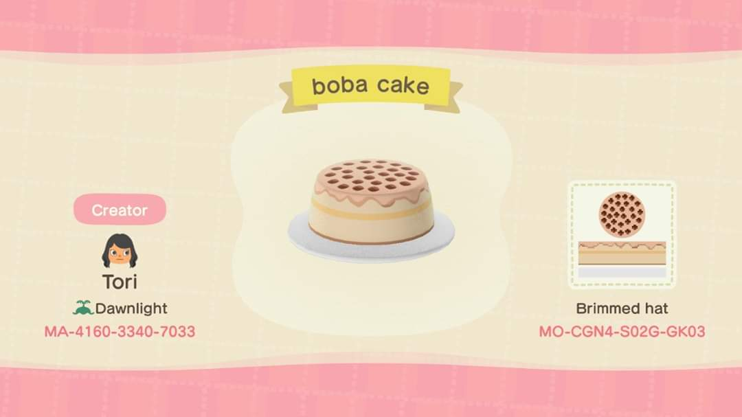 Tori On Twitter I Made An Animal Crossing Boba Shop I Drew The Cake Sign And Stall But Based It Off Images From Ac Bxby Ac Messycrybaby Nerdbaitplus3 Dress Ravenceciliax Animalcrossingdesigns Animalcrossingnewhorizons Https T Co Wupfchl1nd