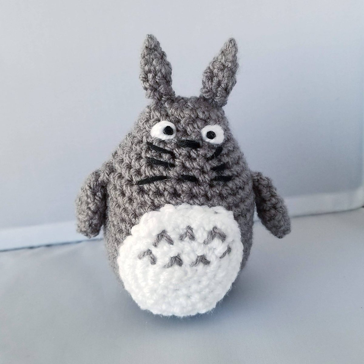 Totoro and Soot Sprites Crochet Pattern With Video | 1200x1200