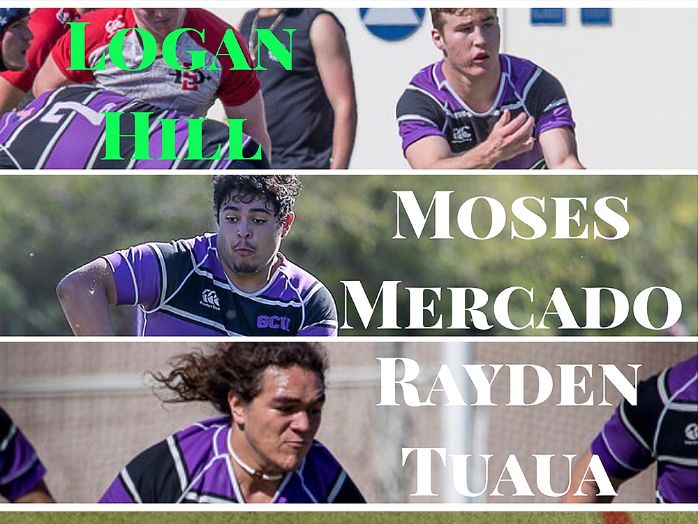 3 of the top freshmen rugby players in the land... and they're right on the @gcu campus! Hats off to these 3 @gcurugby players for making the Goff D1A All-Freshmen Team! Read on! https://t.co/caRpK0bA8s #LivetheLopeLife #LopesRising @D1ARugby https://t.co/Z2yaZFTU3s
