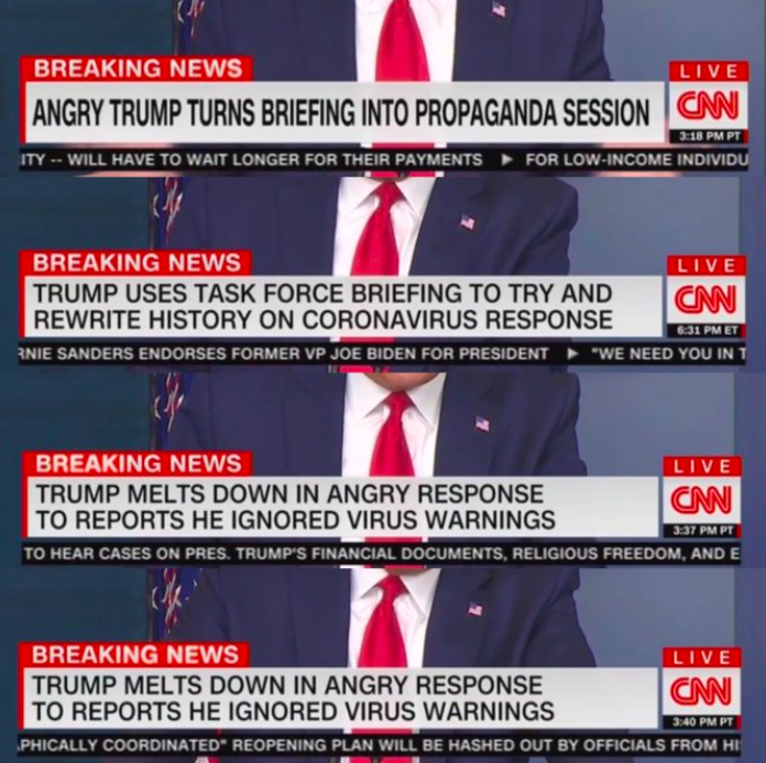 Dear CNN Breaking News Banner Writer Person, Excellent job.   #TrumpMeltdown <br>http://pic.twitter.com/Ne12ANbqLL via goshutyourmouth 04 #TuesdayThoughts