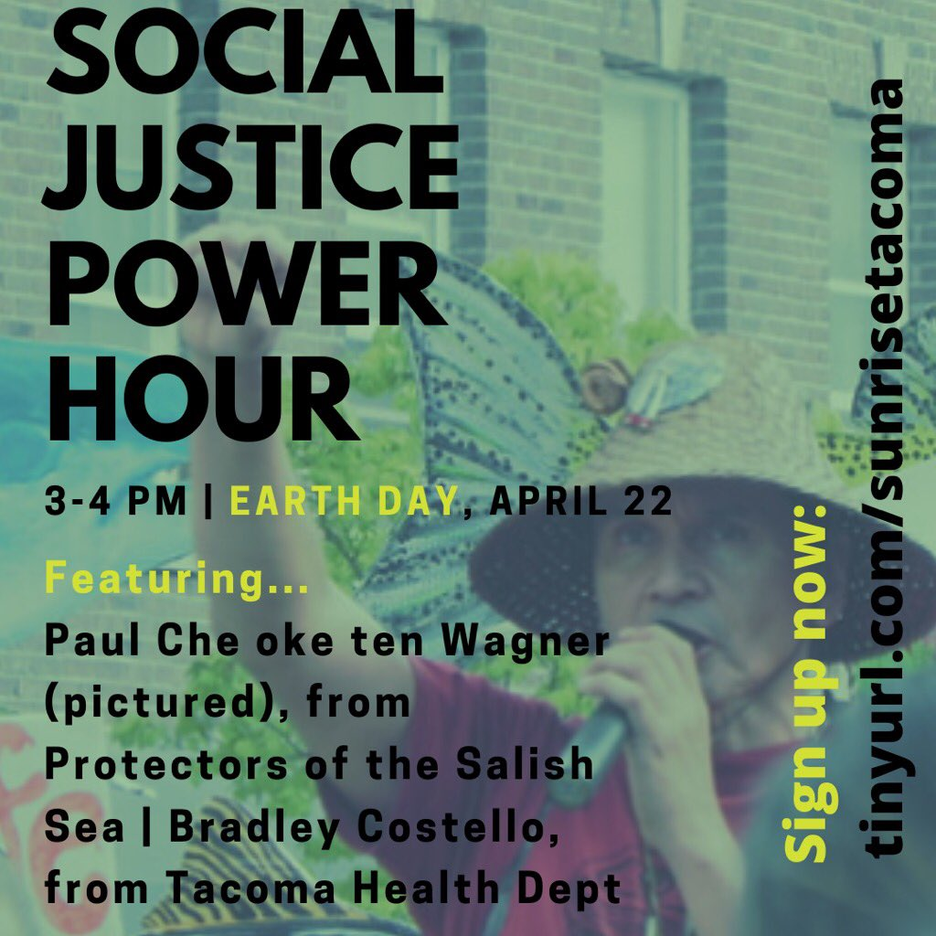 We'll be kicking off our #ClimateStrikeOnline with a Social Justice Power Hour!