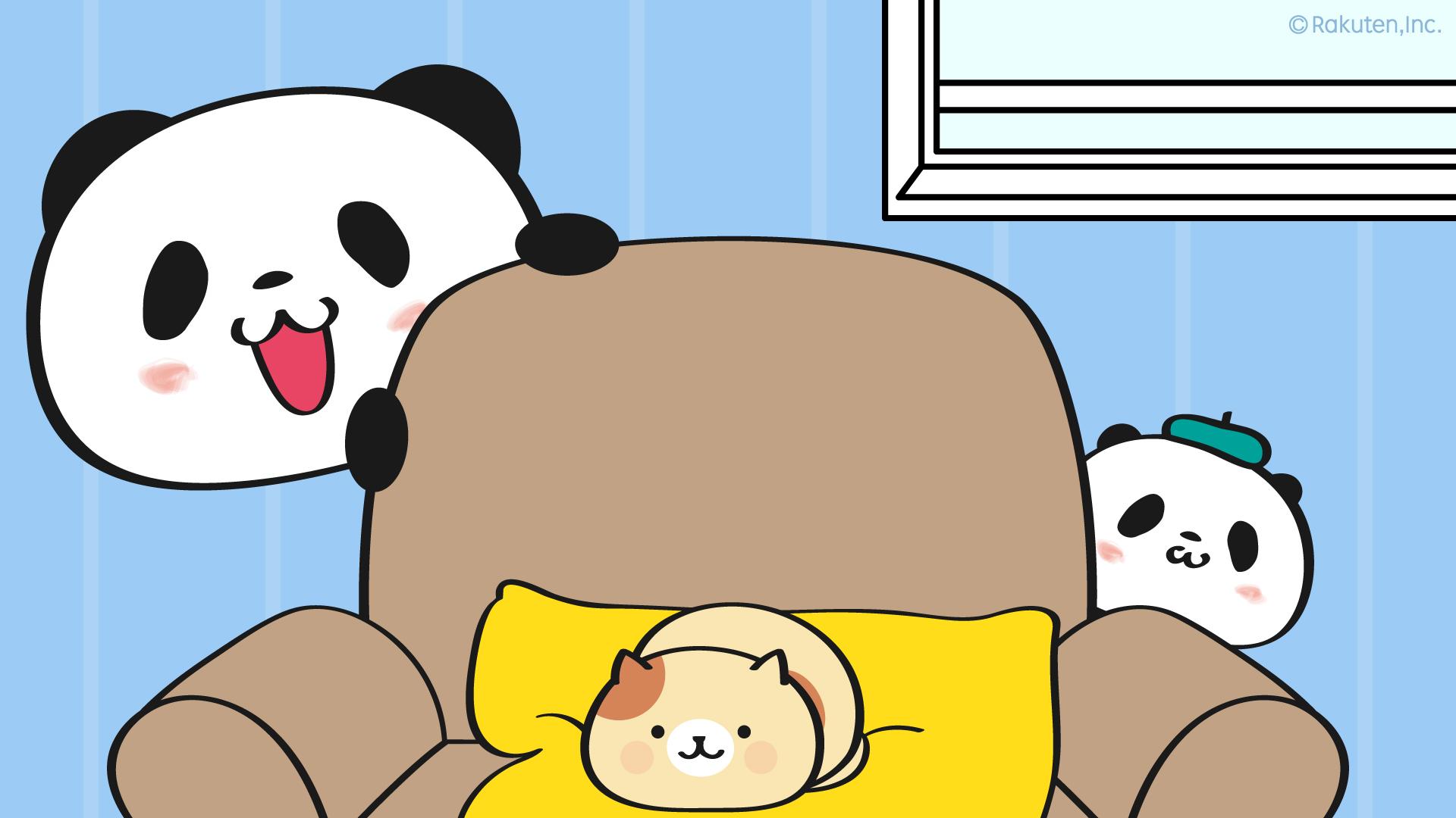 お買いものパンダ最新ニュース 楽天公式 お買いものパンダ のテレビ会議用バーチャル背景画像が登場 お パンたちと一緒に会議に出れば ミーティングもはかどること間違いなし おうち時間もおパンたちと楽しく過ごしてね オフィシャルサイトには他に