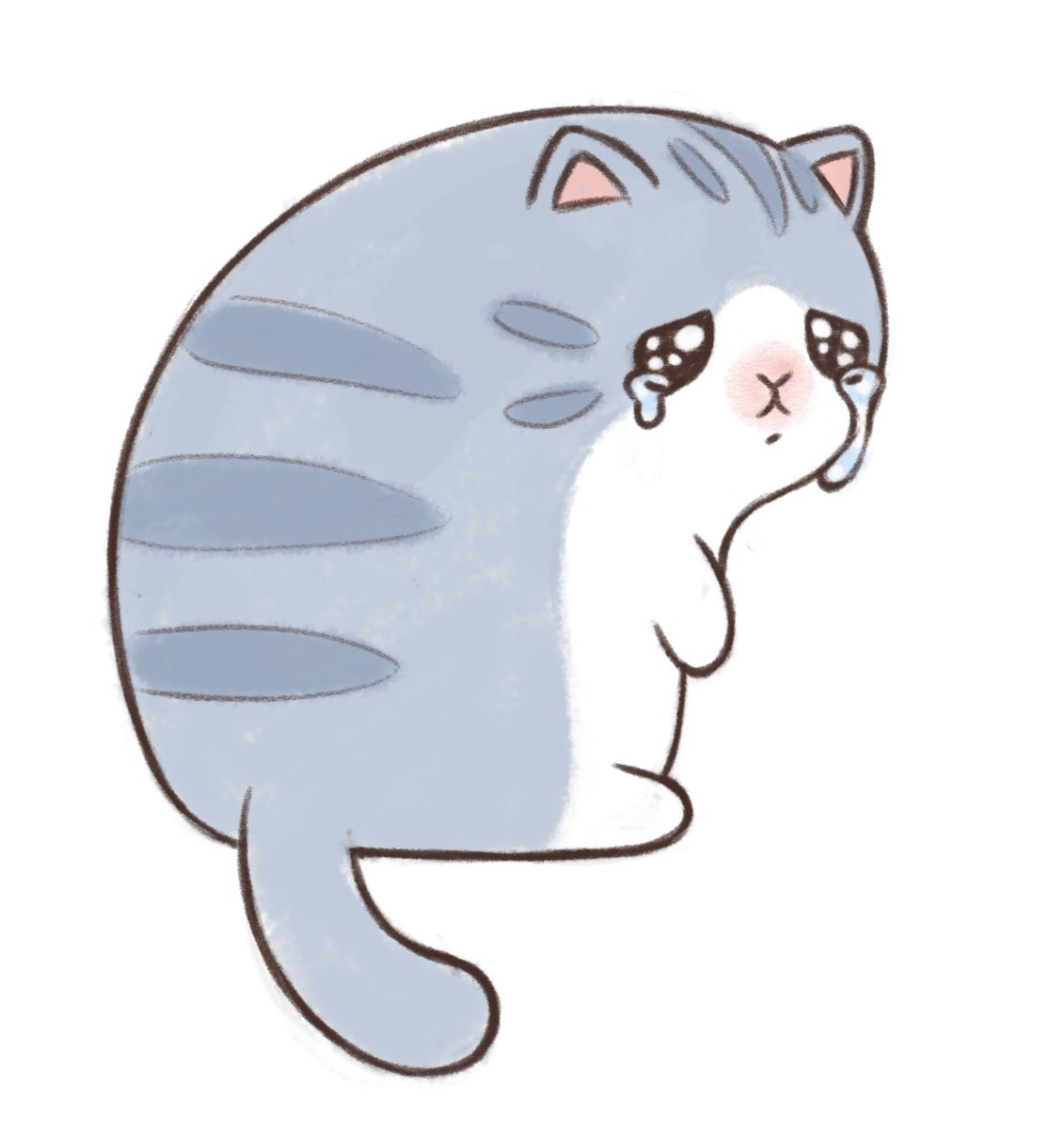 I drew a fan art of my fav sad kitty by @maobaby https://t.co/0mzFMFWPgA