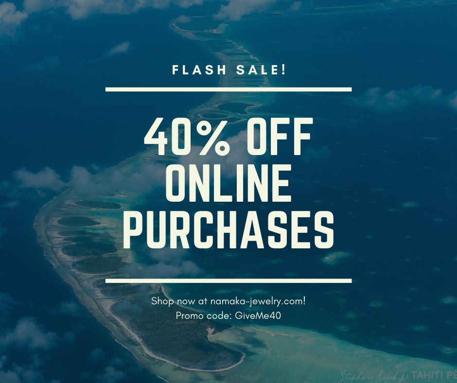 40% discount until the 14th of May!  Order from our website now!!!  https://namaka-jewelry.com/discount/GiveMe40 …  #staysafe #nocoronavirus #2020fashion #TahitianPearl  #Jewelry #Pearl #saleoff #discount #giveaway #Tahiti #PearlJewelry #PearlFarm #BlackPearl  #珍珠 #首飾 #購物, #峴港, #買い物 #ダナンpic.twitter.com/HOEqN1ZiBf