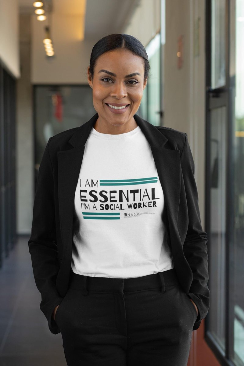 #socialworkers are #EssentialWorkers zazzle.com/social_workers… #nasw #naswnj #COVID2019