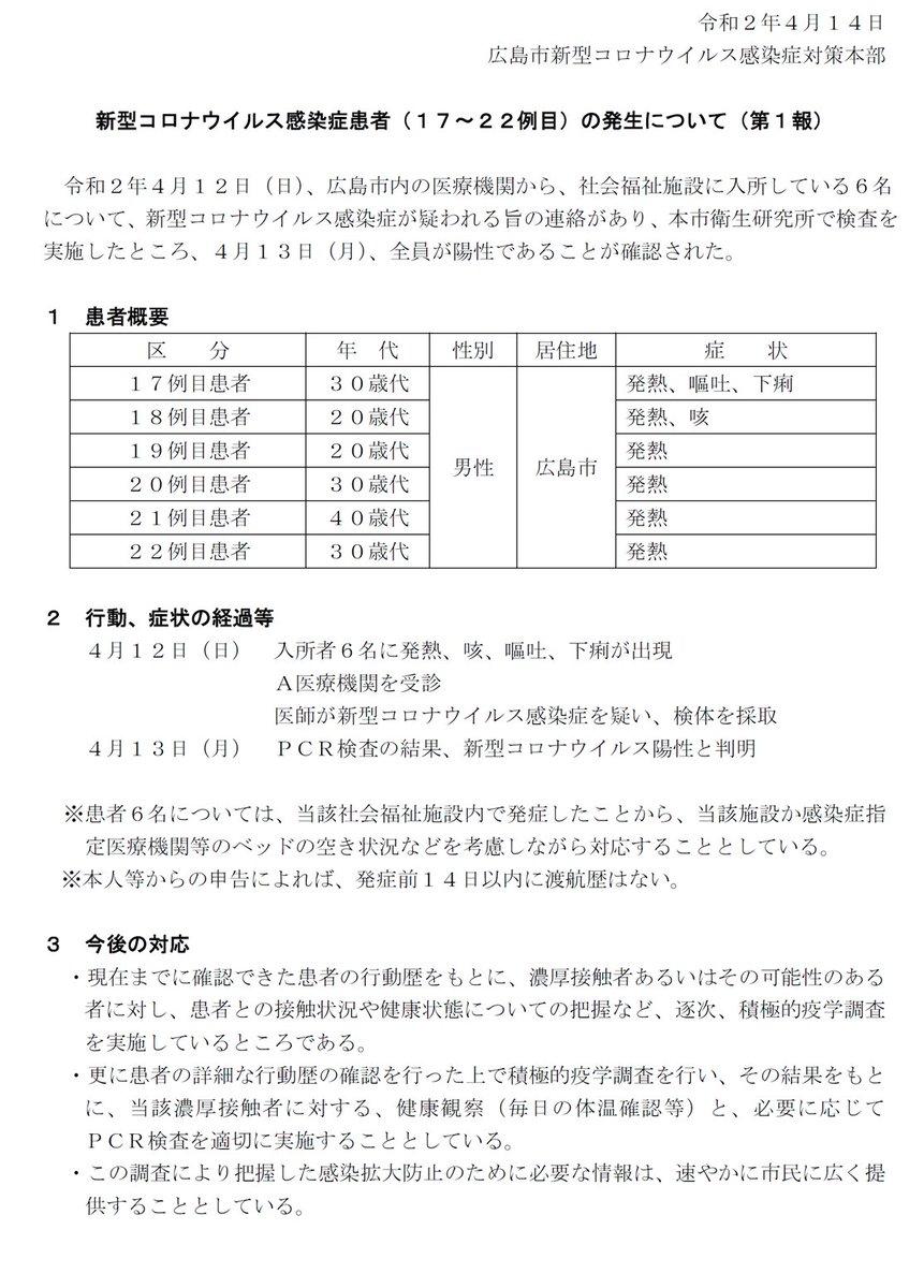 市 施設 広島 社会 コロナ 福祉 新型コロナウイルス感染症 まとめサイト