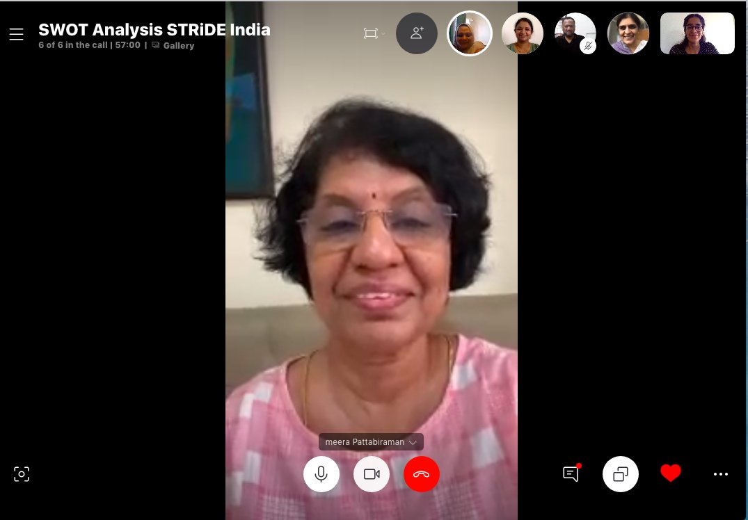 STRiDE India team working together to develop our SWOT matrix @STRiDEDementia @ardsi @AdelinaCoHe @LorenzKH https://t.co/DIMyNLesKR