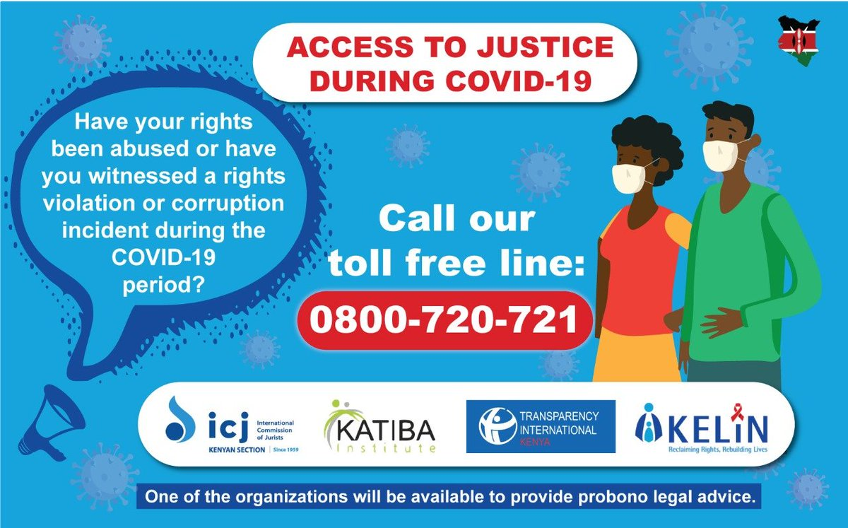 May #Justice be our shield and defender. #COVID19KE #KomeshaCorona #HumanRightsViolations https://t.co/pXWjRCABtG