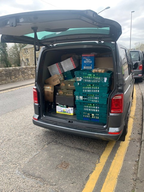 Yesterday was our first day of supporting Food, Facts, Friends, a Foodbank that covers two areas in Midlothian. Mark Patterson, one of our Service Drivers from Edinburgh will be generously supporting this charity by running weekly food deliveries in one of our Edinburgh vans. https://t.co/8PL0FqSxgI