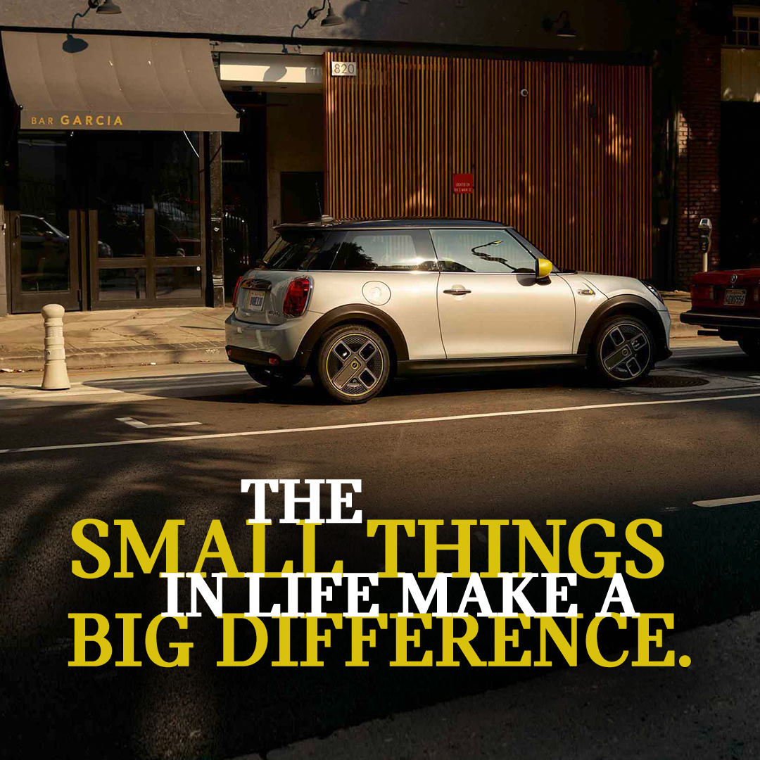 It's #TheMINIThings that make a big difference. Tag someone who has been supporting you! #MINIAUNZ https://t.co/dh8GdrGHJn