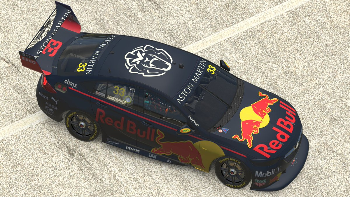 I will be driving this beast tomorrow during the Aussie @Supercars All-Stars Eseries: 5.0-liter, V8-powered @redbullholden 👌🎮🦁 #UnleashTheLion https://t.co/st3PHYExs1