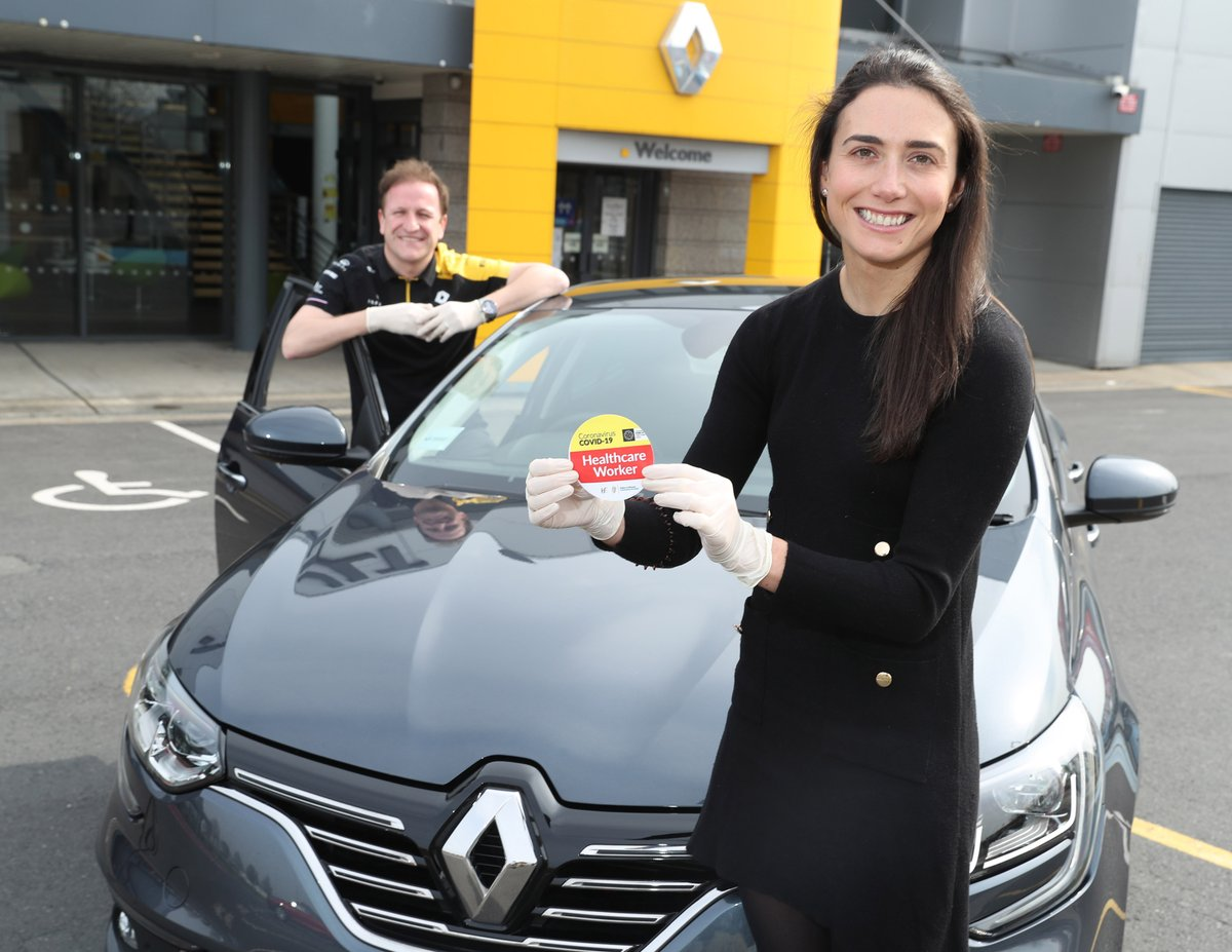 Easing the new commute with CovidCarCover - Returning Dr. Sarah Kyne Gets on the Road with Renault and @AXA_Ireland. https://t.co/pOkm76LDJY