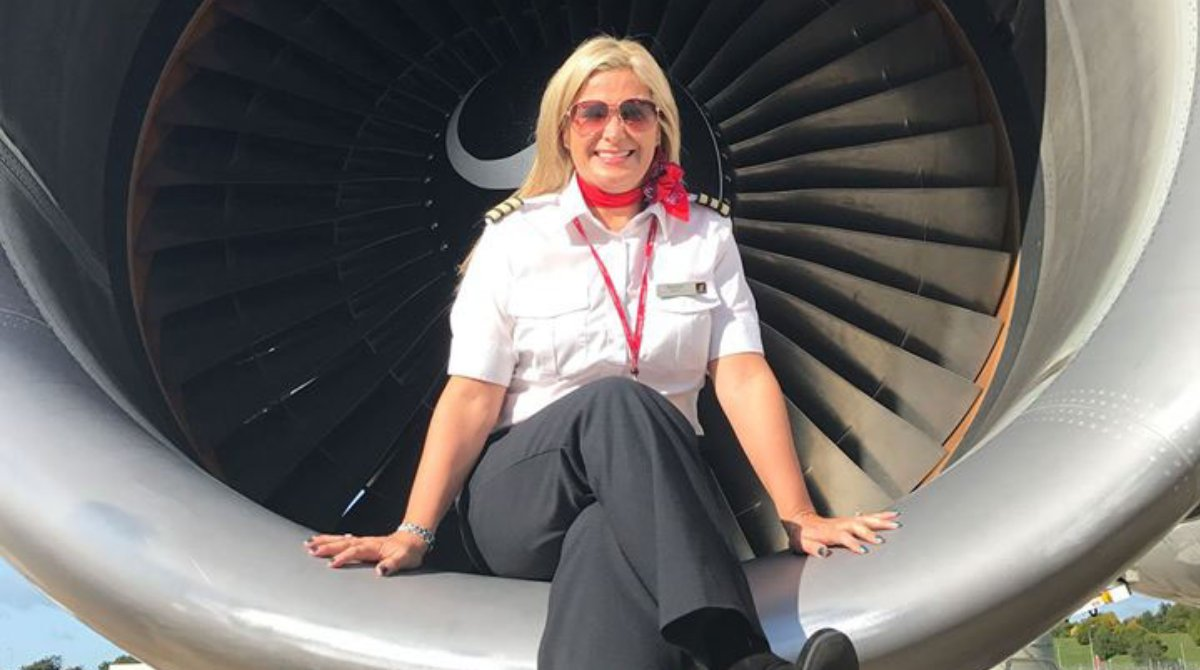 Tune in to Virgin Atlantic Flight School on Instagram TV now: https://t.co/xT1cBb2VB2  In lesson one, First Officer Bernice Moran talks to us about the joy of flying, and answers your questions on everything from how to become a pilot to the range of an Boeing 787 ✈️ https://t.co/PdfoQs9gDg