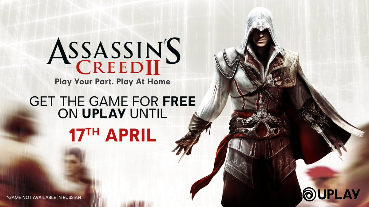 Ubisoft Belgium On Twitter Assassin S Creed Ii Is Now Free To