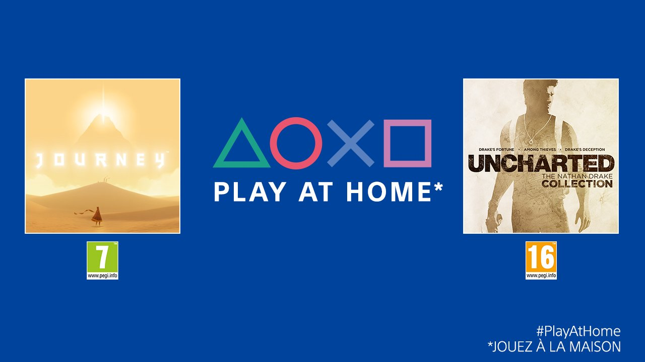 Play at Home Journey Uncharted
