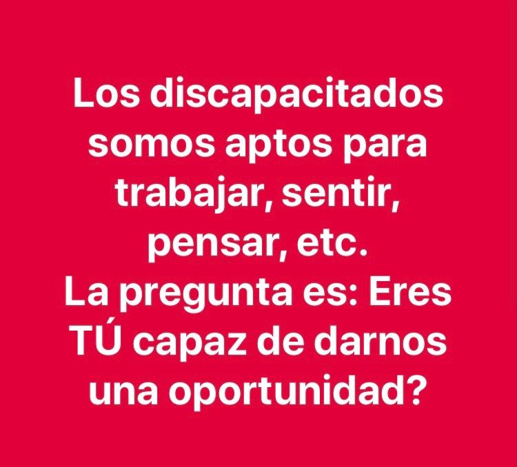 #SiMisMuletasHablasen #Integración #SuperandoBarreras https://t.co/mOHk8wI0mK