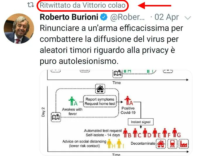 burioni hashtag on Twitter