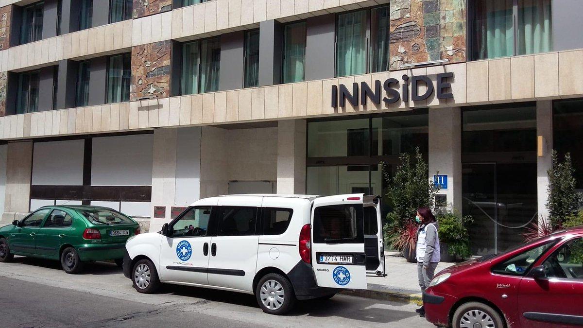 Muchas gracias al Hotel @InnsidebyMelia (Zaragoza) por su donación de productos de higiene que hemos recogido hoy y entregaremos a personas en situación de exclusión y vulnerabilidad social. #COVID19 #TodoSaldráBien @MedicosdelMundo https://t.co/fUQskC6GU0