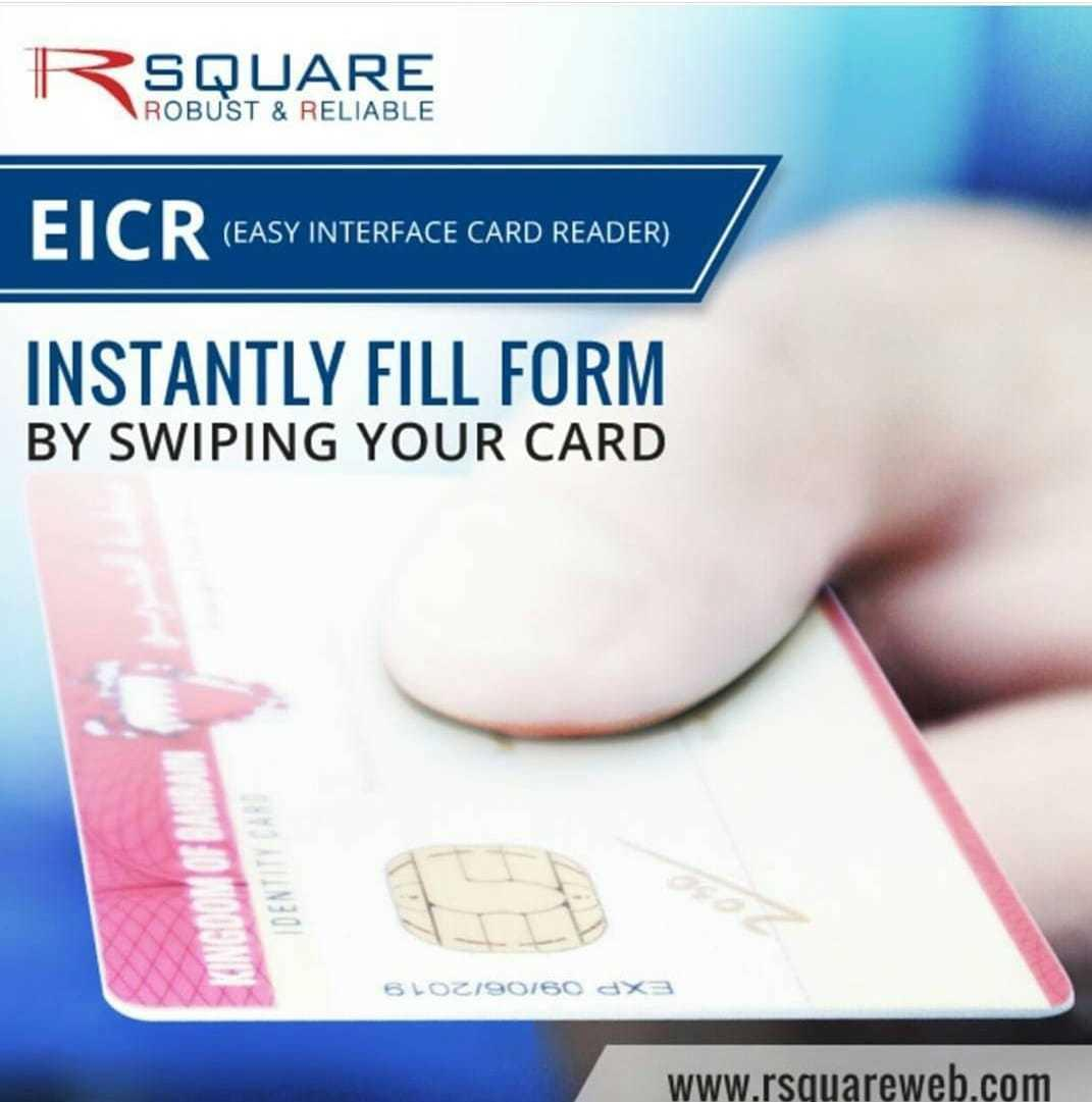 Do you want to populate the CPR data automatically into any of your application/templates? Please call Rsquare for EICR E-Demo 17720850/ info@rsquareweb.com. ##bank #insurance #exchanges #healthsector #bahrainfintechbay #rsquare #bahrain  #staysafe https://t.co/YukDumjVGY