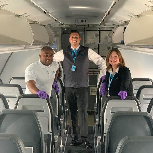 frontier airlines on twitter shout out to all of our frontline team frontier members we see you and we appreciate you frontier airlines on twitter shout