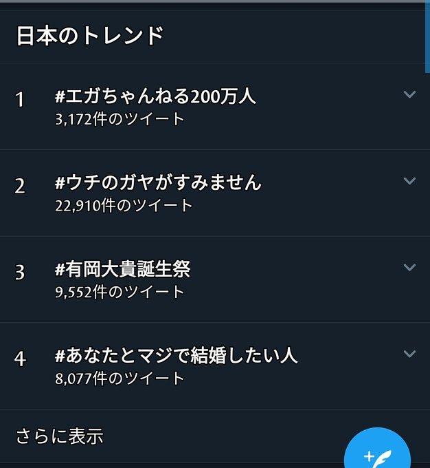 エガ ちゃんねる twitter