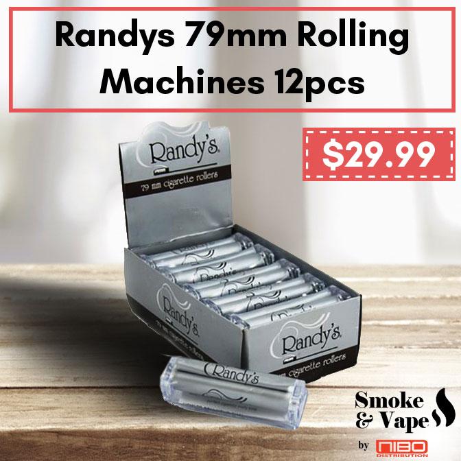 Randys 79mm Rolling Machines 12pcs  https://t.co/YCn41zr1ny  #randays #Elements #RollingMachines #RawTubes #raw_rolling #tray #rawtray #smokeVape #smoking_accessory #rawtraymini #mini #mini_tray #canada #smoking #vaping #smokefans #vape #toronto_smoke_accessory https://t.co/fm5K108Rta