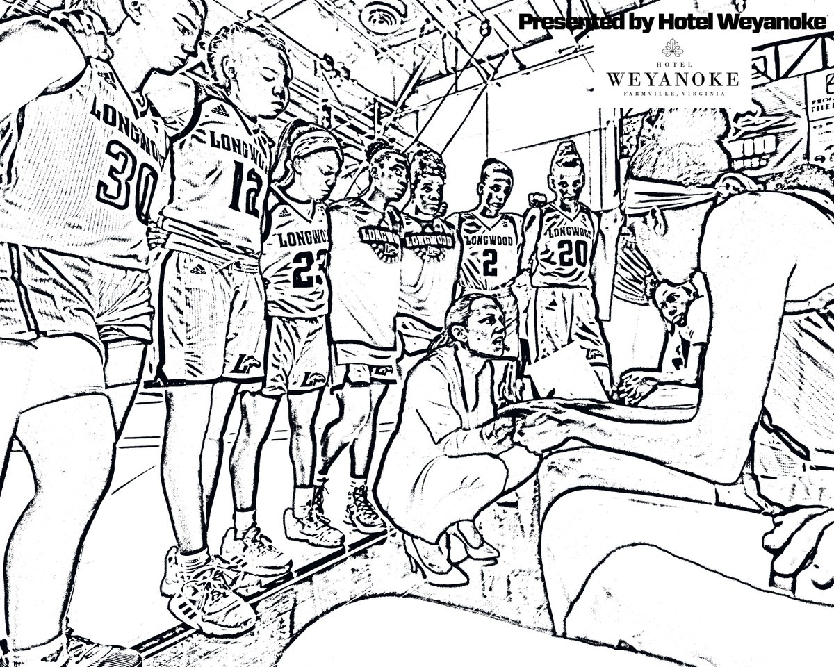 Longwood Athletics On Twitter Wait It S Tuesday Already Time For More Coloring Pages Presented By The Hotel Weyanoke We Feature Men S Cross Country Field Hockey And Women S Hoops This Week Gowood Https T Co Ndwmgdxm0d