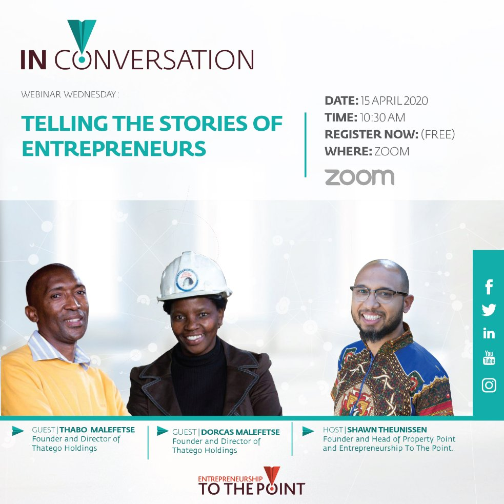 Are we paying enough attention to the story of the entrepreneur during this crisis?  With many relief packages being put in place and so much information being shared on a daily basis, one voice that seems to be missing is that of the entrepreneur. https://t.co/J6eZ2JSLNK