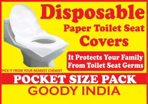 Goody Disposable Paper Toilet Seat Covers are made with 100% Organic & Flush-able paper to protect your skin to get directly in touch with the dirty toilet seat. Protect you from toilet seat germs. Order Now: https://t.co/AwHBFY2hxF https://t.co/9kv0hV6Obe