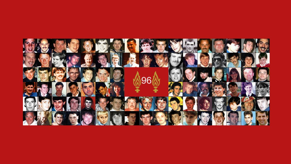 31 years ago today, 96 children, women and men lost their lives at Hillsborough. Our thoughts are with all those affected by the tragedy and the 96 fans who will never be forgotten.