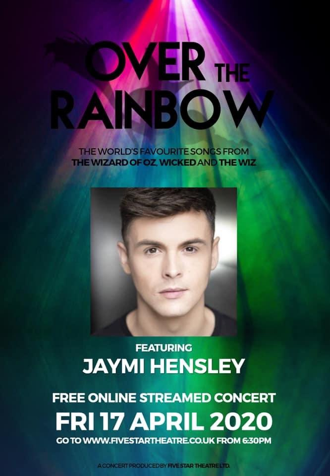 . @JaymiUJWorld will be collaborating with @officialFST for their free Online Streamed Concert of 'Over The Rainbow' 🌈  Jaymi will be performing the main song, 'Over The Rainbow' during their livestream from 6:30pm, Friday 17/04 on their website: https://t.co/mFSebWZc8A 🎭 https://t.co/h4uhE4I3I0