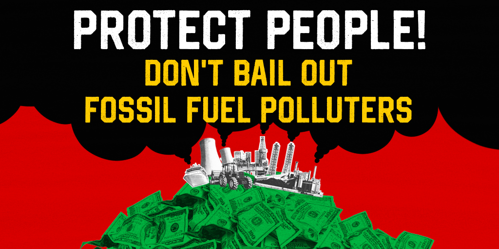 The fracking industry is trying to take advantage of the #coronavirus crisis to get major handouts for the industry. This bailout should go to #PeopleNotPolluters. #NoBigOilBailout