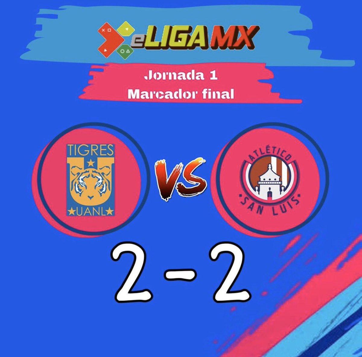 #eligamx #ligabbva  Así termino el segundo día de actividades de la eLiga Mx, con el empate entre #TeamQuiñones y #TeamReyes , tuvimos el empate entre #TeamDieter y #TeamRolan y para cerrar el día tuvimos la victoria del #TeamPardo  #ligamx #aficionadosquehablamosfutbol https://t.co/5xbNayLvoz