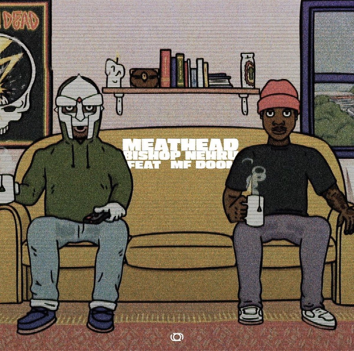 Replying to @BishopNehru: MEATHEAD feat MF DOOM out Friday. Presave it now at the link in my bio to hear it first on release.