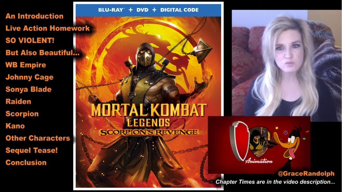Ed Boon On Twitter Very Thorough Non Spoiler Breakdown And Review Of Mortal Kombat Legends Scorpion S Revenge Https T Co Jdgz9qeonf Https T Co Nji0u8tmir